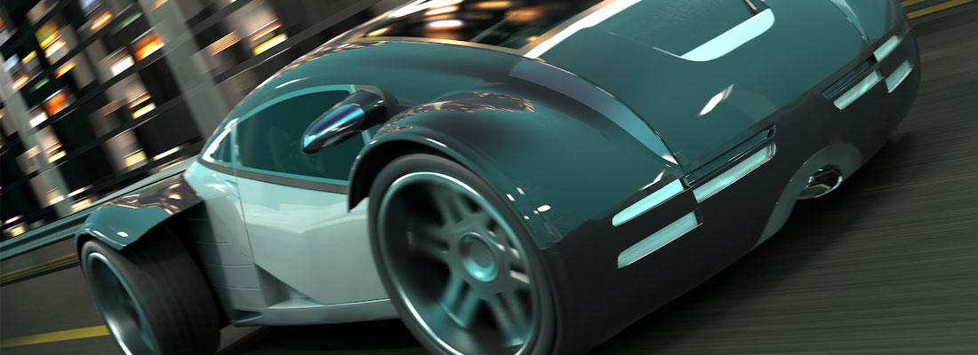 voitures futuristes